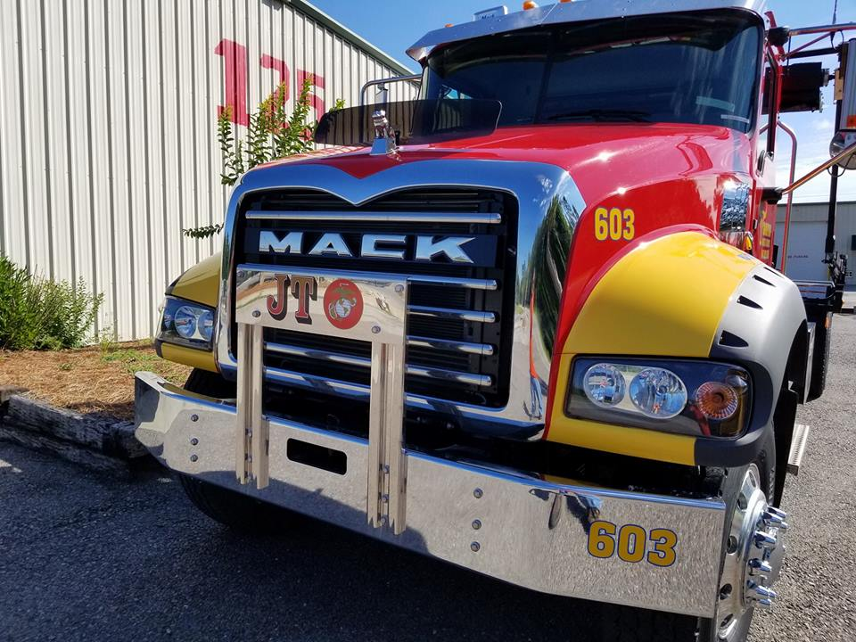 Auto restyling on a truck