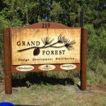 updated business sign outside